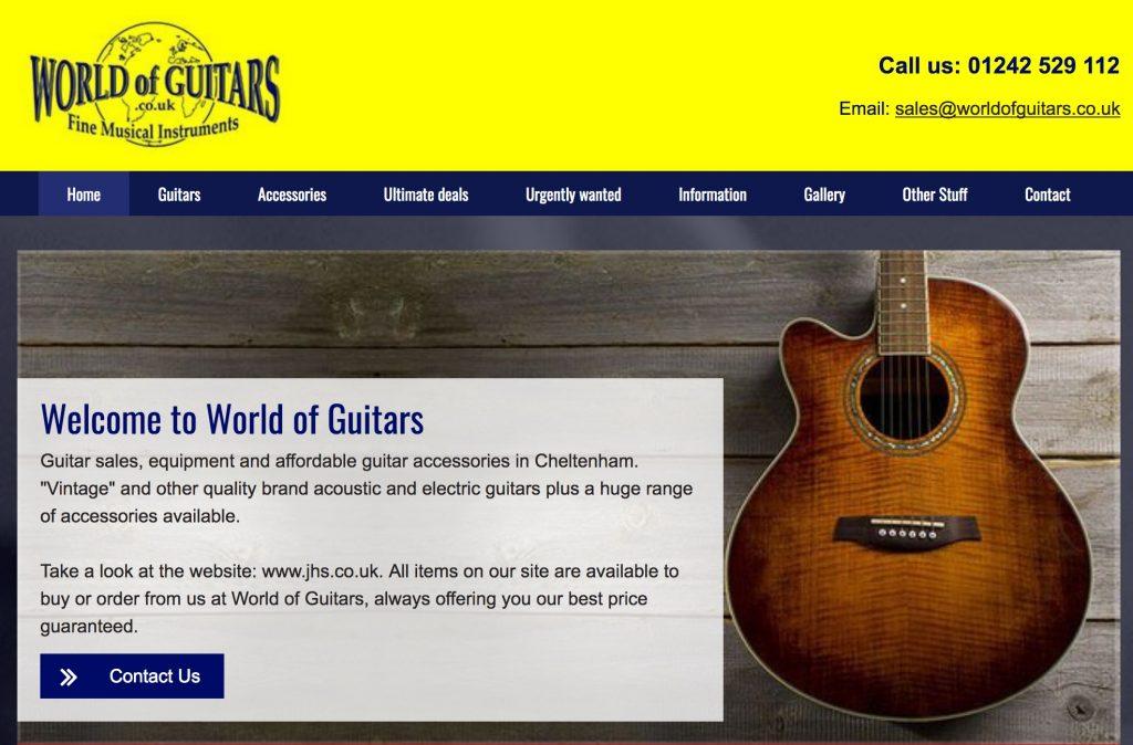 World Of Guitars